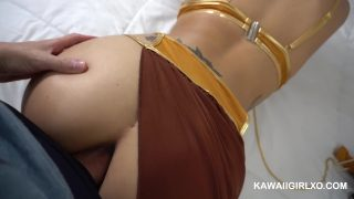 Star Wars Cosplay Slave Leia Ass Fucking POV