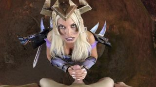 Cosplay Pornstar Dressed As Warlock From Word of Warcraft Sucks Your Cock POV And Makes You Cum