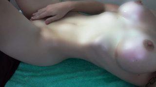Slave Leia Cosplay Slut Masturbating With a Lightsaber