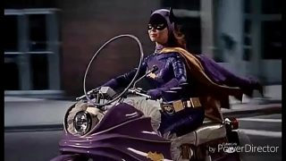 Vintage Style Batgirl Cosplayer Fucked In Ass and Pussy In Batman XXX Parody
