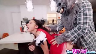 Little Red Riding Hood Cosplayer Gets Fucked By The Big Bad Wolf