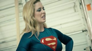 Hot Supergirl Cosplayer Gets Restrained By Bad Guys and Fucked