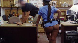 MILF Police Woman Cosplayer Enjoys a Hard Fucking
