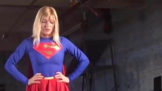 Hot Supergirl Cosplayer Is Captured, Caged and Humiliated