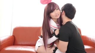 Hot Kazuna AI Cosplay By Japanese Babe Getting Fucked and Sucking Dick