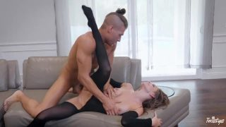 Kimmy Granger cosplaying a Neko is dominated and has her pussy wrecked