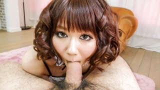 Slutty Asian maid cosplayer sucks dick and gets fucked