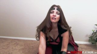 Hippolyta cosplayer gives her son hot JOI
