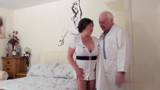 Dirty doctor fucks his BBW naughty nurse cosplayer