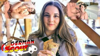 German girl scout cosplayer gets fucked by customer