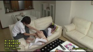 Japanese schoolgirl cosplayer loves when her stepbrother wakes her up to fuck