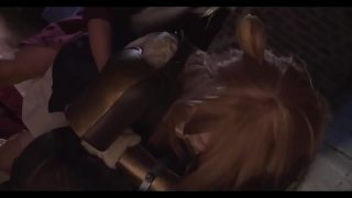 Raphtalia cosplayer sucking dick and getting fucked by Naofumi